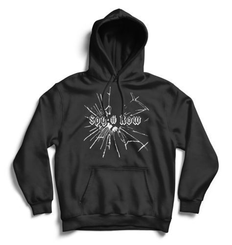 "SPY#ROW Hoodie schwarz ""Blood Brothers"""