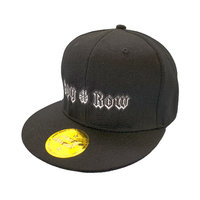 "SPY#ROW Snapback Cap schwarz ""Blood Brothers"""